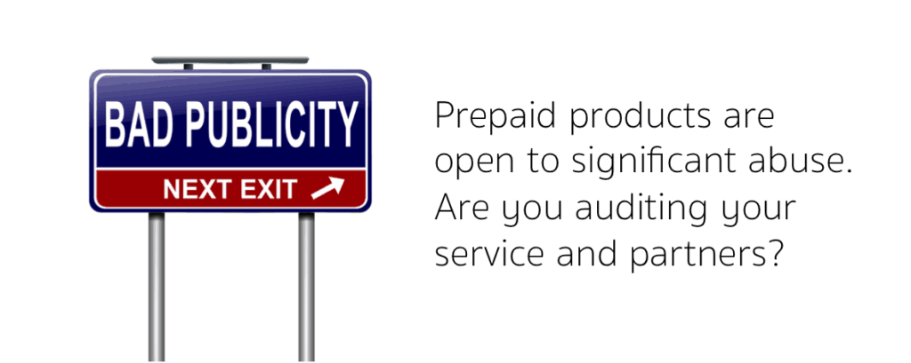 Audit your prepaid service and suppliers