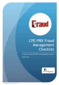 PBX Fraud Checklist