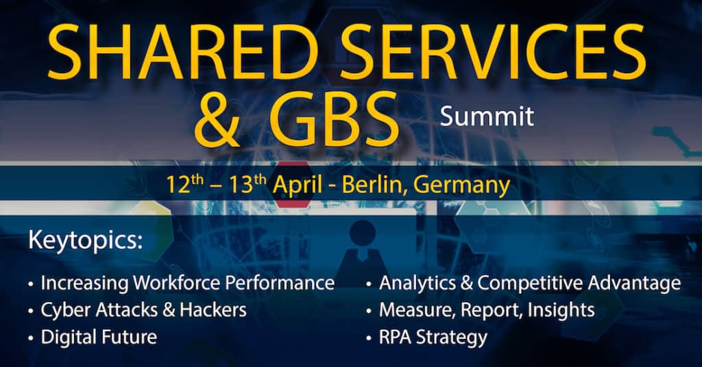 Shared Services & GBS Summit Topics